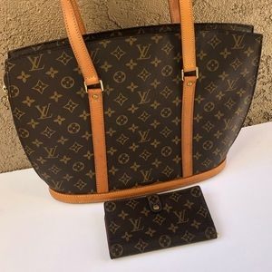 ❤️Louis Vuitton zipper tote and wallet